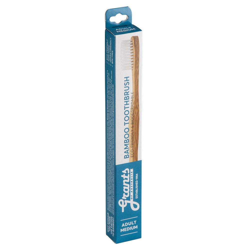 Adult Bamboo Toothbrush - Medium