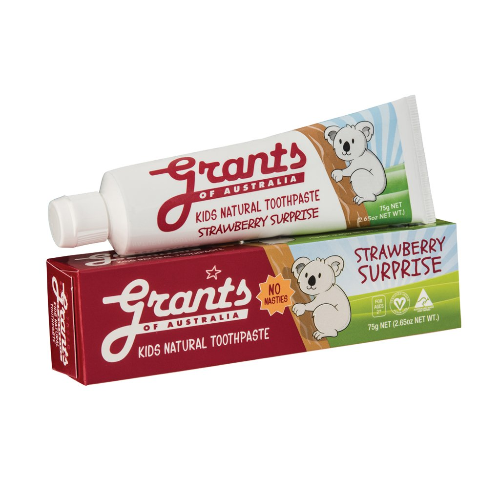 Strawberry Surprise Kids Natural Toothpaste - 75g