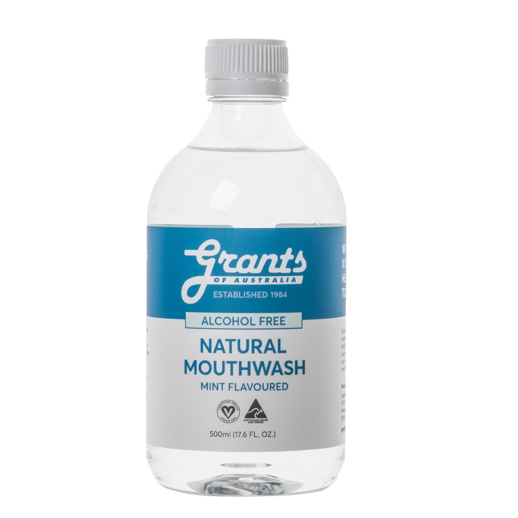 Xylitol Natural Mouthwash - 500mL